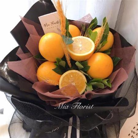 好看有创意的水果花束图片_水果花束图片大全