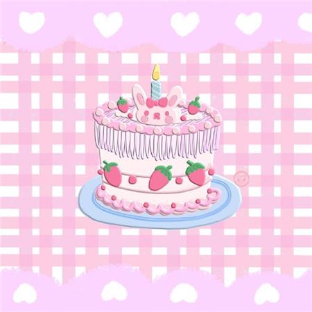 生日微信朋友圈配图 生日图片蛋糕卡通创意