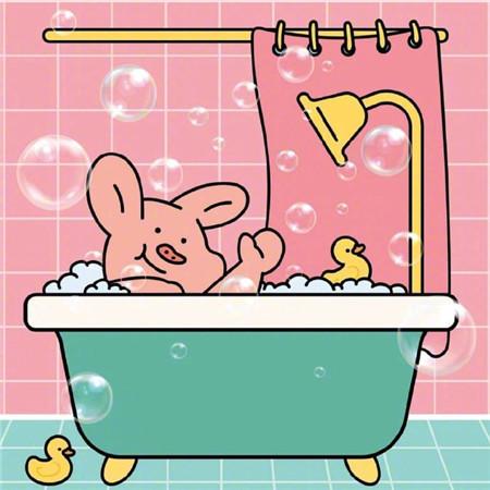 好看萌萌可爱猪猪卡通空间素材