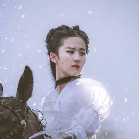 绝美灵秀仙女小龙女刘亦菲图片